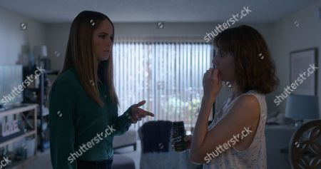 Debby Ryan as Nikki and Alison Brie as Sarah