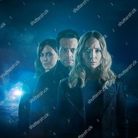 Joanne Froggatt as Laura Nielson, Ioan Gruffudd as Andrew Earlham and Katherine Kelly as DI Karen Renton.