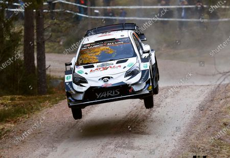 Editorial image of WRC Rally of Sweden, Torsby - 13 Feb 2020
