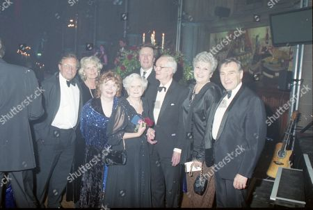 Coronation Street 40th Anniversary party. Kenneth Farrington, Angela Crow, Daphne Oxenford, Anne Cunningham and Ernst Walder