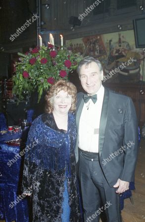 Coronation Street 40th Anniversary party. Angela Crow and Ernst Walder