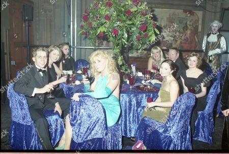 Coronation Street 40th Anniversary party. Nicholas Cochrane and Beverley Callard