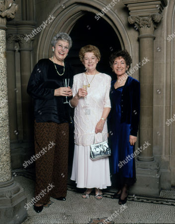 Coronation Street 40th Anniversary party. Anne Cunningham, Jean Alexander and Jennifer Moss