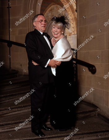 Coronation Street 40th Anniversary party. William Tarmey and Elizabeth Dawn