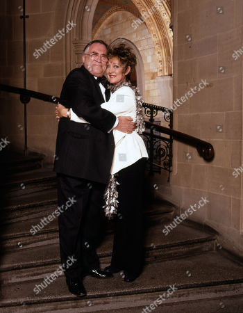 Coronation Street 40th Anniversary party. William Tarmey and Amanda Barrie