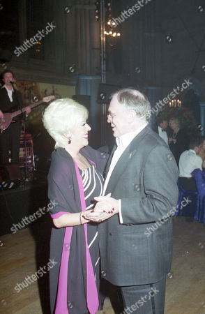 Coronation Street 40th Anniversary party. Elizabeth Dawn and William Tarmey