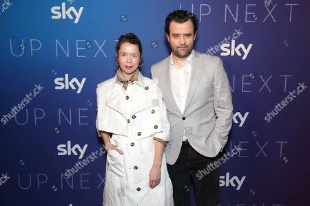 Anna Maxwell Martin and Daniel Mays