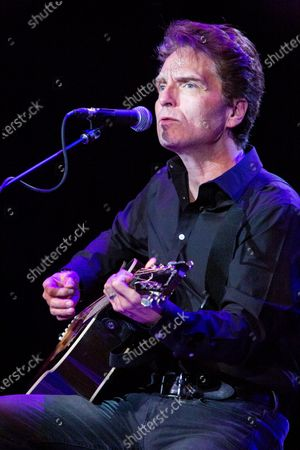 Editorial image of Richard Marx in concert at the Brown County Music Center, Nashville, Indiana, USA - 12 Feb 2020