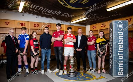 Editorial image of Bank of Ireland Munster Clubs Age-Grade Launch, Thomond Park, Limerick - 13 Feb 2020