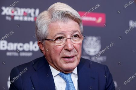 President of the Entity of Management of Rights of the Audiovisual Producers (EGEDA) Enrique Cerezo during an interview in Mexico City, Mexico, 12 February 2020 (issued 13 February 2020).