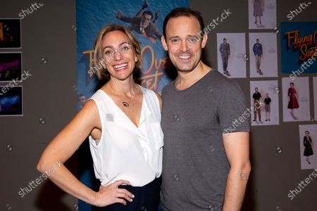 Stock Image of Laura Shoop and Harry Hadden-Paton