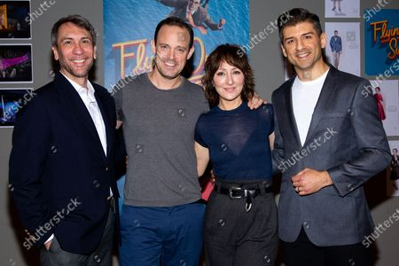 Stock Photo of Robert Sella, Harry Hadden-Paton, Carmen Cusack and Tony Yazbeck