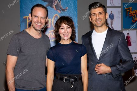 Stock Picture of Harry Hadden-Paton, Carmen Cusack and Tony Yazbeck
