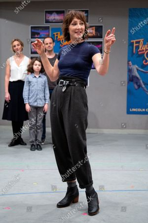 Editorial picture of 'Flying Over Sunset' rehearsals on Broadway, New York, USA - 12 Feb 2020