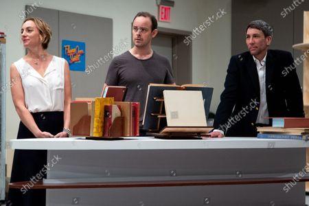 Stock Photo of Laura Shoop, Harry Hadden-Paton and Robert Sella