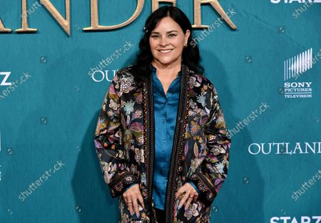 Editorial photo of 'Outlander' TV show Season 5 premiere, Arrivals, Hollywood Palladium, Los Angeles, USA - 13 Feb 2020
