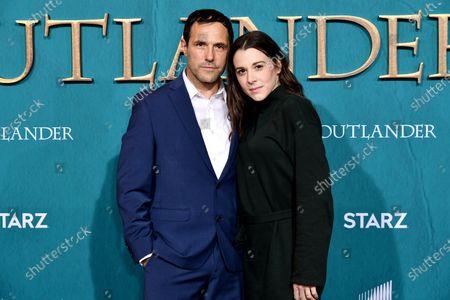 Stock Photo of Andreas Beckett and Victoria Atkin