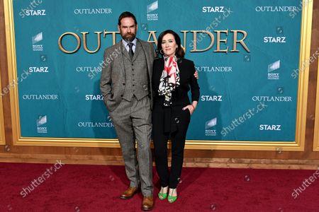 Editorial photo of 'Outlander' TV show Season 5 premiere, Arrivals, Hollywood Palladium, Los Angeles, USA - 13 Feb 2020