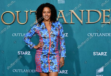 Editorial image of 'Outlander' TV show Season 5 premiere, Arrivals, Hollywood Palladium, Los Angeles, USA - 13 Feb 2020