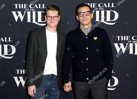 Stock Picture of Josh Cockream and Conrad Ricamora