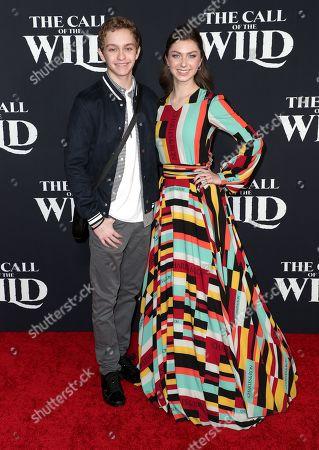 Gavin Lewis and Isabella Blake-Thomas