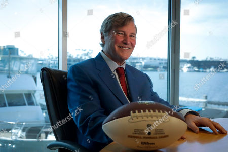 Agent Leigh Steinberg poses for a picture at his office, in Newport Beach, Calif. A decade after his personal and professional life bottomed out, agent Leigh Steinberg has another Super Bowl MVP client, saw another former client be elected to the Pro Football Hall of Fame and could have yet another first-round draft pick in the spring