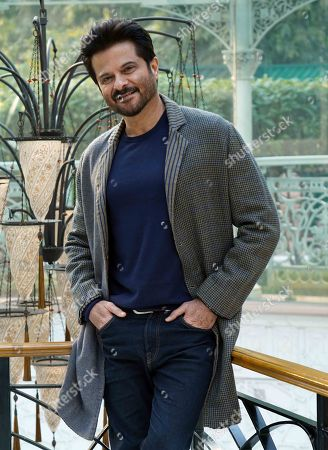 Editorial image of Anil Kapoor photocall, The Imperial New Delhi, India - 13 Feb 2020