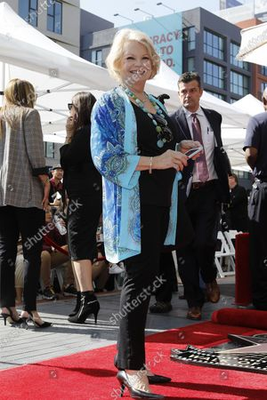 Stock Photo of Kathy Garver attends a star ceremony honoring Canadian puppeteers Sid and Marty Krofft with the 2687th star on the Hollywood Walk of Fame in Los Angeles, California, USA, 13 February 2020. The star is dedicated in the category of Television.