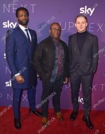 Sope Dirisu, Lucian Msamati and Joe Cole