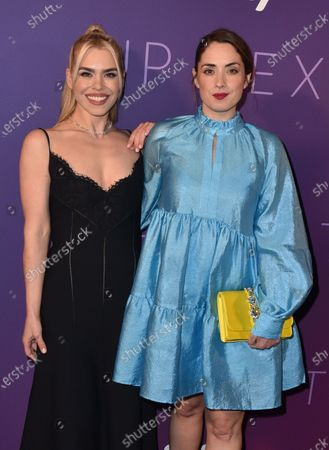 Stock Photo of Billie Piper and Lucy Prebble