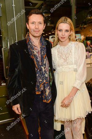 Stock Picture of Robert Montgomery and Greta Bellamacina