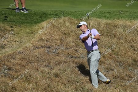Steve Stricker of the US competes in round one of the Genesis Invitational at The Riviera Country Club in Pacific Palisades, California, USA, 13 February 2020.