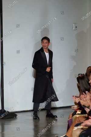 Han Chong on the catwalk