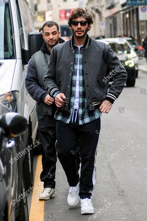Editorial image of Stefano De Martino out and about, Milan, Italy - 13 Feb 2020