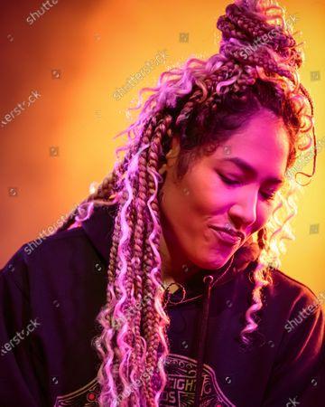 Editorial photo of Nikki Jean in concert at Stubb's Bar-B-Q, Austin, USA - 31 Jan 2020