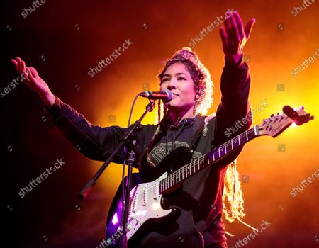 Editorial image of Nikki Jean in concert at Stubb's Bar-B-Q, Austin, USA - 31 Jan 2020