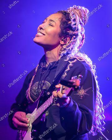 Editorial picture of Nikki Jean in concert at Stubb's Bar-B-Q, Austin, USA - 31 Jan 2020