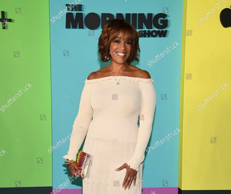 """Gayle King attends the world premiere of Apple TV+'s """"The Morning Show"""" at David Geffen Hall at Lincoln Center, in New York. CBS anchor King says she accepts Snoop Dogg's apology for the profane, threatening video that he posted following an interview by her with WNBA star Lisa Leslie that angered some fans of the late Kobe Bryant. King said, she accepts the apology, and says she's sorry that her interview added to the pain of people grieving over Bryant's death"""