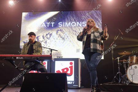 Matt Simons and Lola Dubini