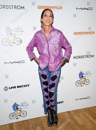 "Pat Cleveland attends a special screening of ""The Times of Bill Cunningham "", hosted by MAC, Nordstrom and the CFDA, at the Angelika Film Center, in New York"