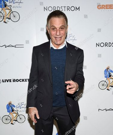 """Stock Picture of Tony Danza attends a special screening of """"The Times of Bill Cunningham """", hosted by MAC, Nordstrom and the CFDA, at the Angelika Film Center, in New York"""