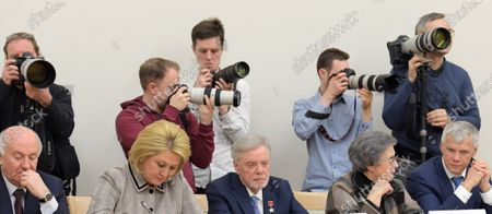 Editorial photo of Constitutional amendments, Novo-Ogaryovo residence, Moscow, Russia - 13 Feb 2020