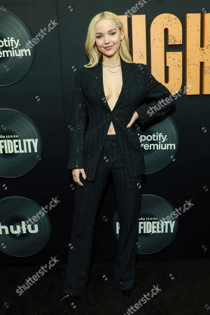 """Stock Photo of Dove Cameron attends the premiere of Hulu's """"High Fidelity"""" at Metrograph, in New York"""