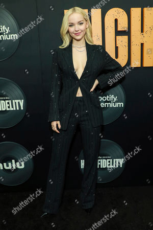 """Dove Cameron attends the premiere of Hulu's """"High Fidelity"""" at Metrograph, in New York"""