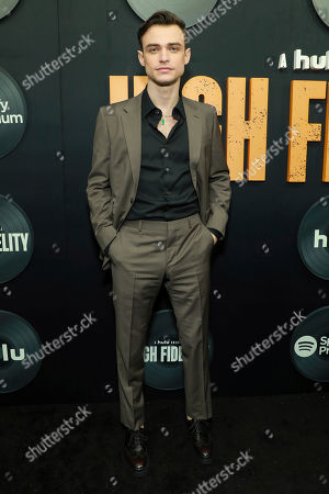 """Thomas Doherty attends the premiere of Hulu's """"High Fidelity"""" at Metrograph, in New York"""