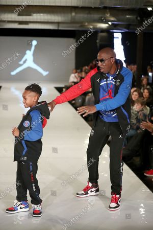 JB Smoove with son