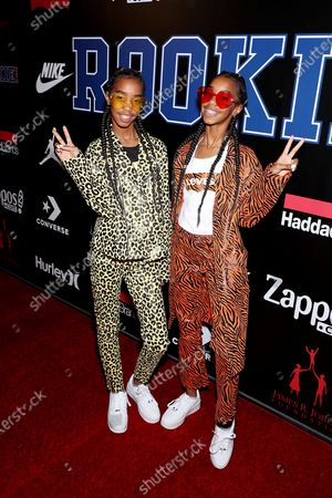 Jessie and Chance Combs (Sean Combs daughters)