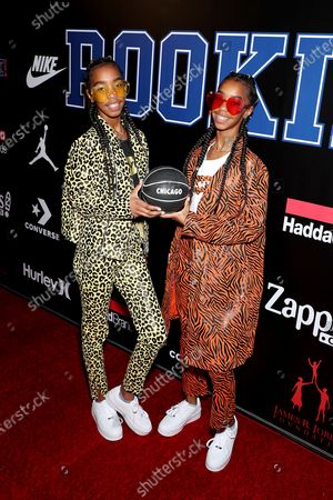 Editorial image of 11th Annual ROOKIE USA Fashion Show During NBA All-Star Weekend in Chicago, Arrivals, USA - 13 Feb 2020