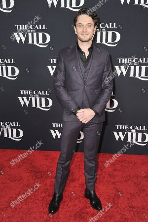 """Colin Woodell attends the world premiere of """"The Call of the Wild"""" at the El Capitan Theatre, in Los Angeles"""