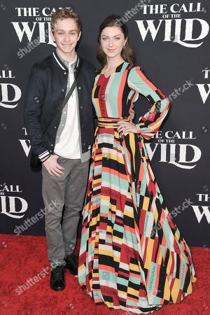 """Isabella Blake-Thomas attends the world premiere of """"The Call of the Wild"""" at the El Capitan Theatre, in Los Angeles"""